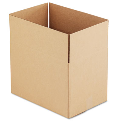 """(UFS181212)UFS 181212 – Fixed-Depth Shipping Boxes, Regular Slotted Container (RSC), 18"""" x 12"""" x 12"""", Brown Kraft, 25/Bundle by GEN (25/BD)"""