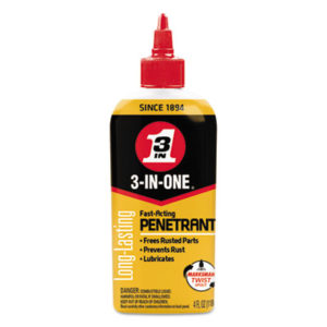 (WDF120015CT)WDF 120015CT – 3-IN-ONE Professional High-Performance Penetrant, 4 oz Bottle, 12/CT by WD-40 (12/CT)
