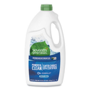 (SEV22170CT)SEV 22170CT – Natural Automatic Dishwasher Gel, Free and Clear/Unscented, 42 oz Bottle, 6/Carton by SEVENTH GENERATION (6/CT)