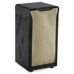 (SJMH900BK)SJM H900BK – Tabletop Napkin Dispenser, Tall Fold, 3 3/4 x 4 x 7 1/2, Capacity: 150, Black by CFS BRANDS (1/EA)