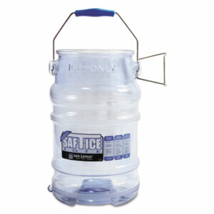 (SJMSI6000)SJM SI6000 – Saf-T-Ice Tote, 6gal Capacity, Transparent Blue by CFS BRANDS (1/EA)