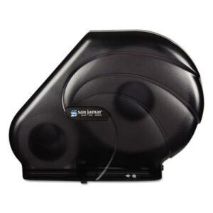 (SJMR3090TBK)SJM R3090TBK – Oceans Reserva Jumbo Tissue Dispenser w/Stub, 16-3/4×5-1/2×12-1/4, Black Pearl by CFS BRANDS (1/EA)
