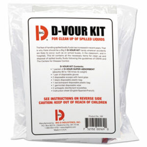 (BGD169)BGD 169 – D'vour Clean-up Kit, Powder, All Inclusive Kit, 6/Carton by BIG D (6/CT)