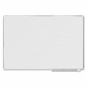 (BVCMA2794830)BVC MA2794830 – Ruled Planning Board, 72 x 48, White/Silver by BI-SILQUE VISUAL COMMUNICATION PRODUCTS INC (1/EA)
