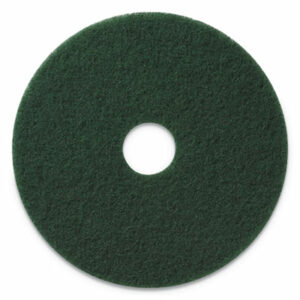 """(AMF400314)AMF 400314 – Scrubbing Pads, 14"""" Diameter, Green, 5/Carton by AMERICO MANUFACTURING CO (5/CT)"""
