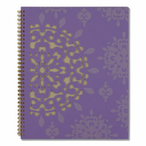 (AAG122905)AAG 122905 – Vienna Weekly/Monthly Appointment Book, 11 x 8.5, Purple, 2022 by MEAD PRODUCTS (1/EA)