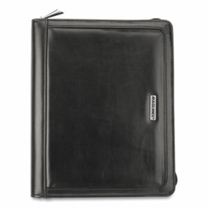 (AAG1010299)AAG 1010299 – Faux Black Leather Starter Set, 10.4 x 8.7, Black by AT-A-GLANCE (1/EA)