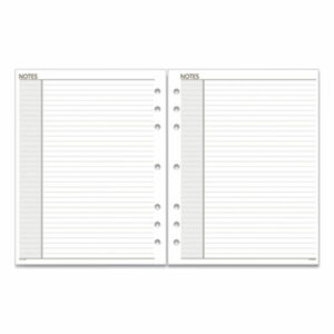 (AAG018200)AAG 018200 – Lined Notes Pages, 11 x 8.5, White, 30/Pack by AT-A-GLANCE (1/EA)