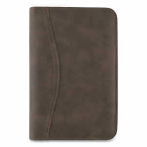 (AAG033014004)AAG 033014004 – Distressed Brown Leather Starter Set, 6.75 x 3.75, Brown by AT-A-GLANCE (1/EA)
