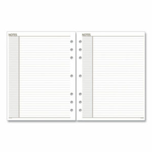(AAG011200)AAG 011200 – Lined Notes Pages, 8.5 x 5.5, White, 30/Pack by AT-A-GLANCE (1/EA)