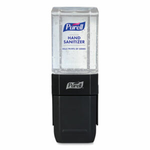 (GOJ4424D6CT)GOJ 4424D6CT – ES1 Hand Sanitizer Dispenser Starter Kit, 450 mL, 3.12 x 5.88 x 5.81, Graphite, 6/Carton by GO-JO INDUSTRIES (6/CT)