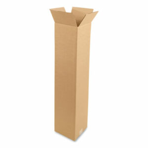 (CWZ690494)CWZ 690494 – Fixed-Depth Shipping Boxes, 200 lb Mullen Rated, Regular Slotted Container (RSC), 10 x 10 x 48, Brown Kraft, 20/Bundle by COASTWIDE PROFESSIONAL (20/BD)