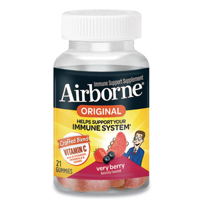 (ABN90846)ABN 90846 – Immune Support Gummies, Very Berry, 21/Bottle by SCHIFF VITAMINS (1/EA)