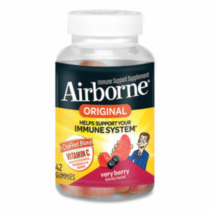 (ABN90052)ABN 90052 – Immune Support Gummies, Very Berry, 42/Bottle by SCHIFF VITAMINS (1/EA)