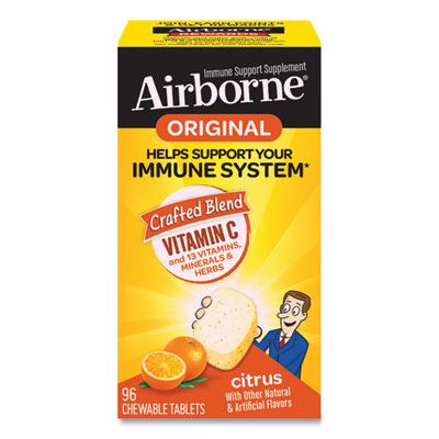 (ABN96297)ABN 96297 – Immune Support Chewable Tablet, Citrus, 96 Count by SCHIFF VITAMINS (1/EA)