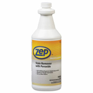 (ZPP1041705EA)ZPP 1041705EA – Stain Remover with Peroxide, Quart Bottle by ZEP INC. (1/EA)