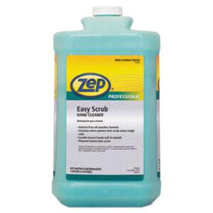 (ZPP1049469)ZPP 1049469 – Industrial Hand Cleaner, Easy Scrub, Lemon, 1 gal Bottle, 4/Carton by ZEP INC. (4/CT)