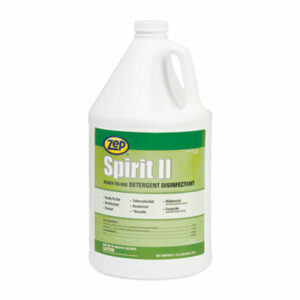 (ZPP67923)ZPP 67923 – Spirit II Ready-to-Use Disinfectant, Citrus Scent, 1 gal Bottle, 4/Carton by ZEP INC. (4/CT)