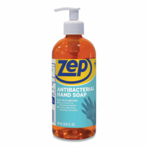 (ZPPR46101)ZPP R46101 – Antibacterial Hand Soap, Floral, 16.9 oz Bottle, 12/Carton by ZEP INC. (1/CT)